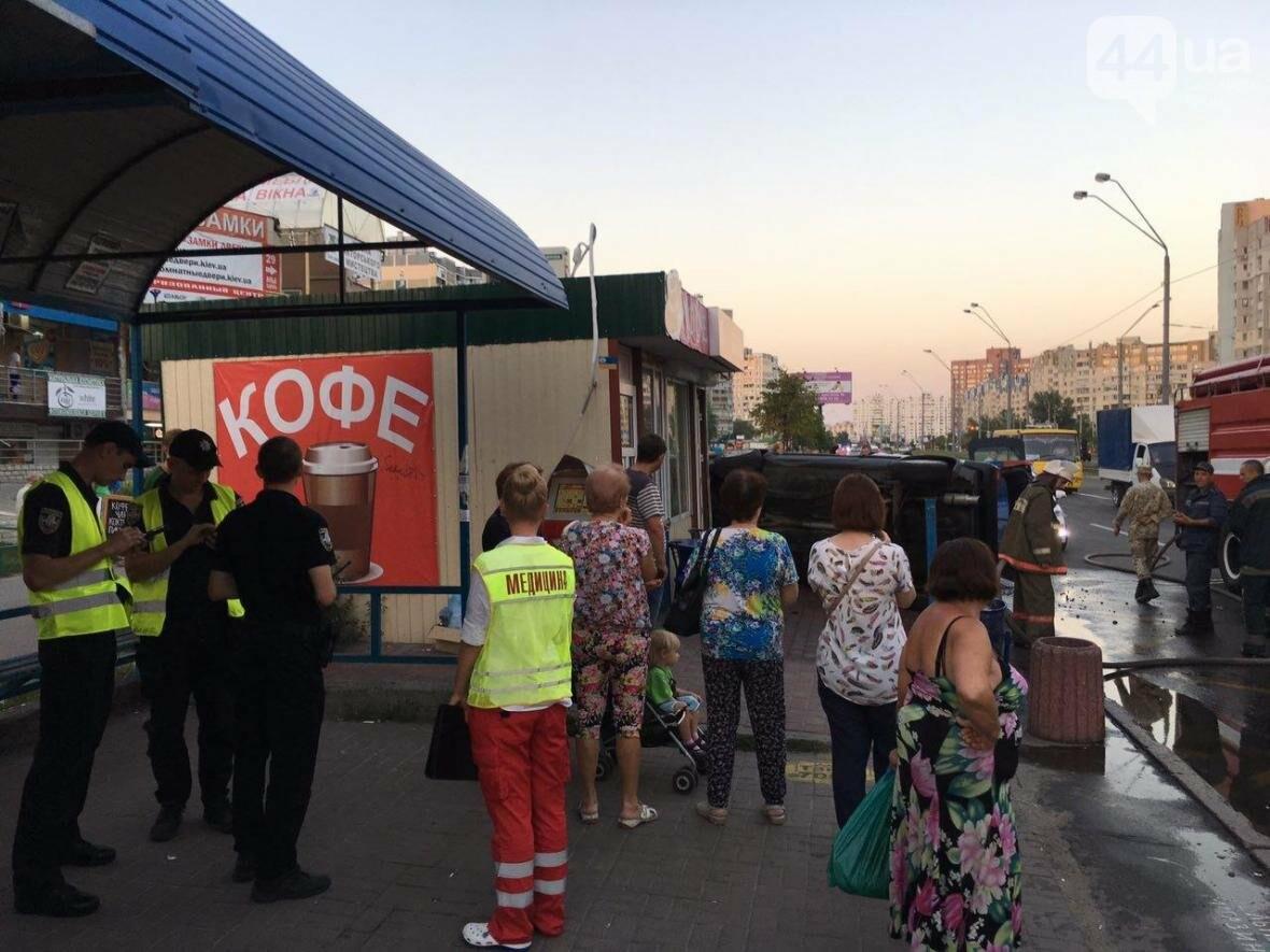 Подъем-переворот: пьяный водитель чуть не снес остановку (ФОТО), фото-2
