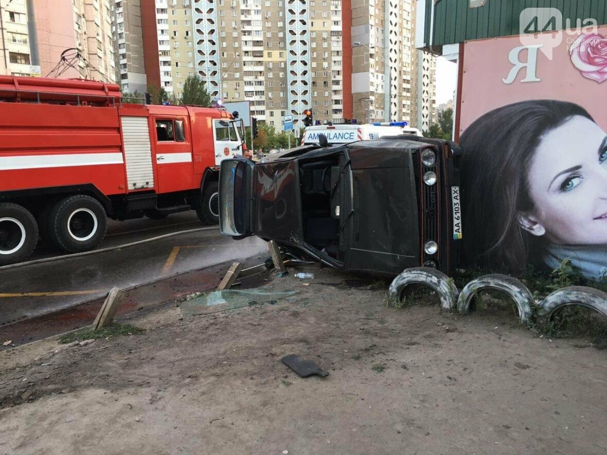 Подъем-переворот: пьяный водитель чуть не снес остановку (ФОТО), фото-6