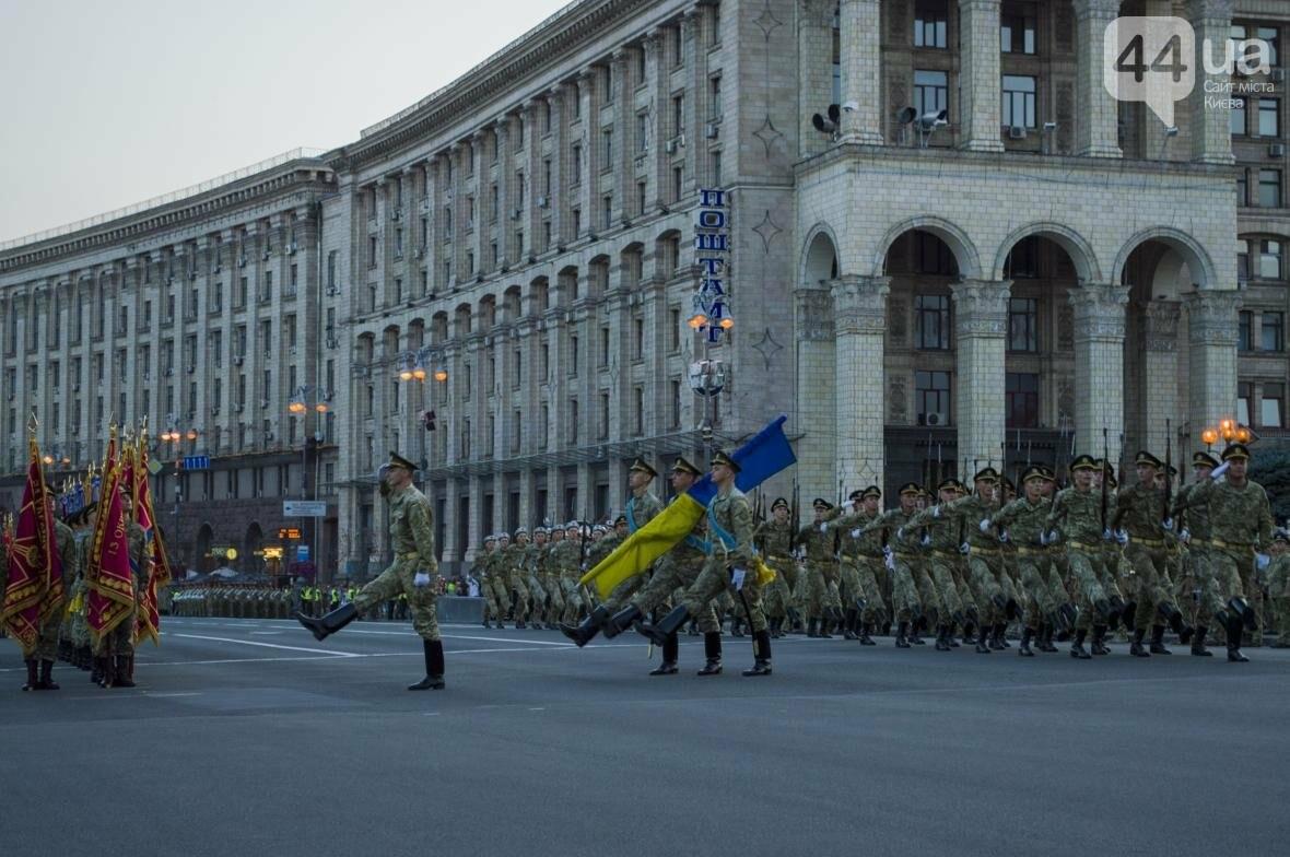 На Крещатике прошла репетиция военного парада, как это было (ФОТО), фото-10