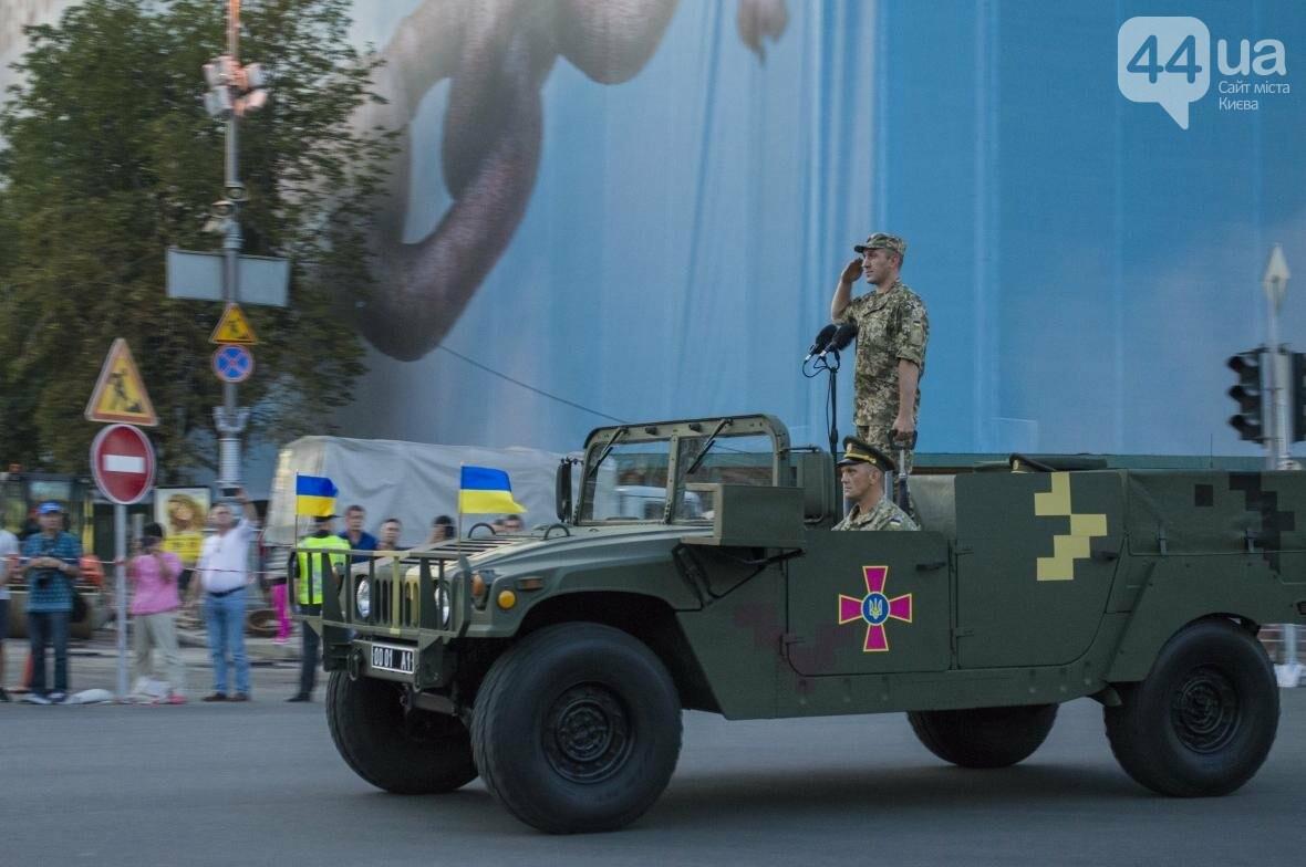 На Крещатике прошла репетиция военного парада, как это было (ФОТО), фото-11