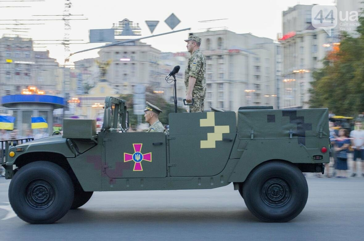 На Крещатике прошла репетиция военного парада, как это было (ФОТО), фото-12