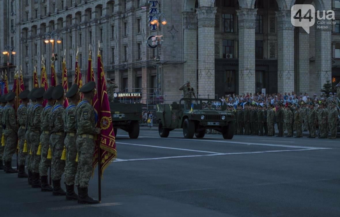 На Крещатике прошла репетиция военного парада, как это было (ФОТО), фото-13