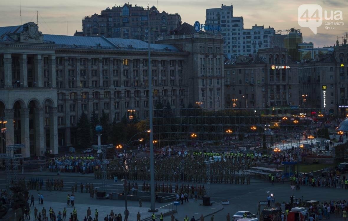 На Крещатике прошла репетиция военного парада, как это было (ФОТО), фото-14