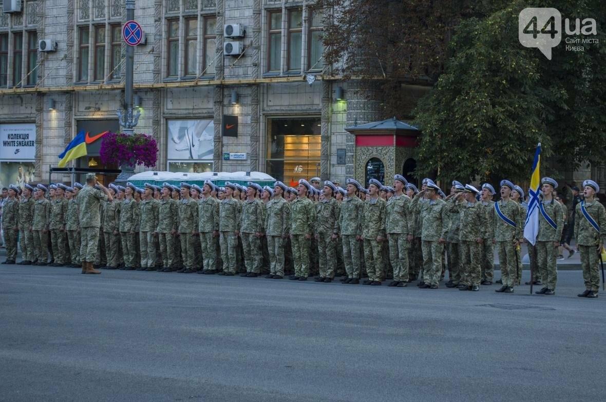На Крещатике прошла репетиция военного парада, как это было (ФОТО), фото-1