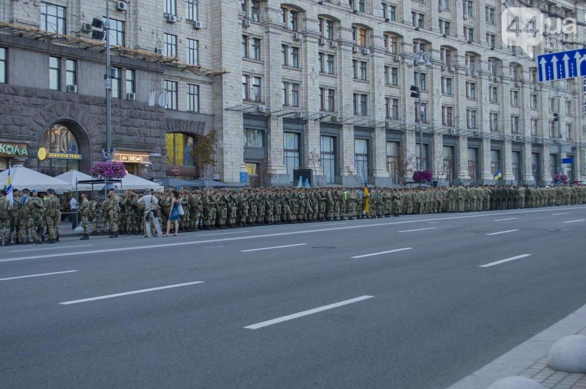 На Крещатике прошла репетиция военного парада, как это было (ФОТО), фото-3