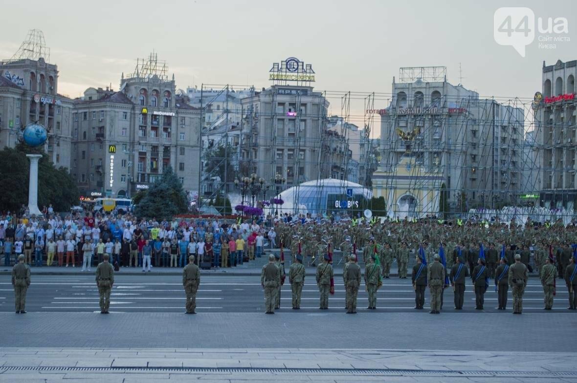 На Крещатике прошла репетиция военного парада, как это было (ФОТО), фото-6