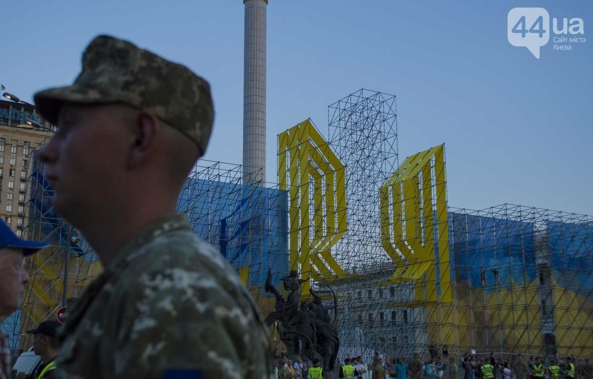 На Крещатике прошла репетиция военного парада, как это было (ФОТО), фото-8