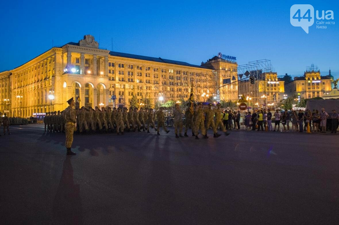 На Крещатике прошла репетиция военного парада, как это было (ФОТО), фото-17
