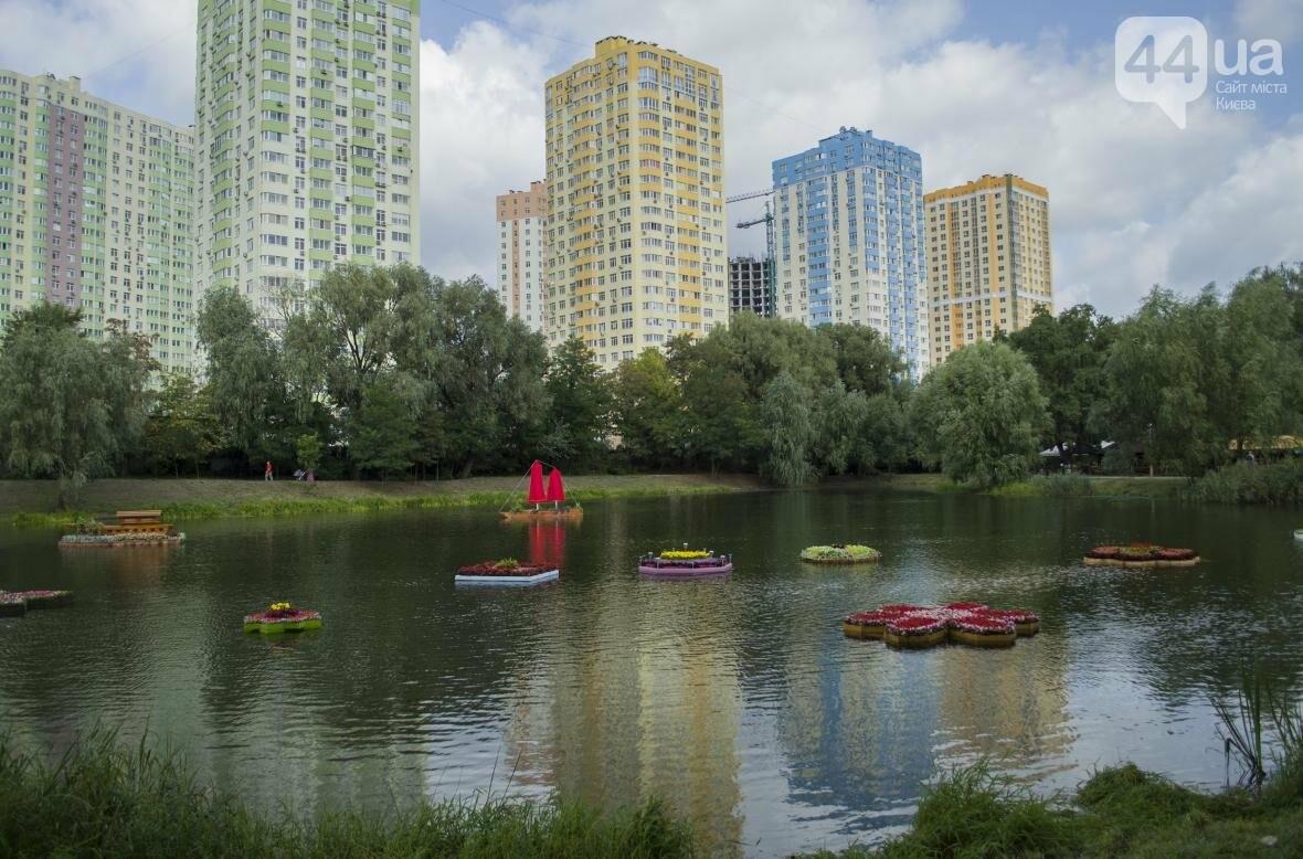 Необычный цветник: в киевском парке появились плавающие клумбы (ФОТОРЕПОРТАЖ), фото-9