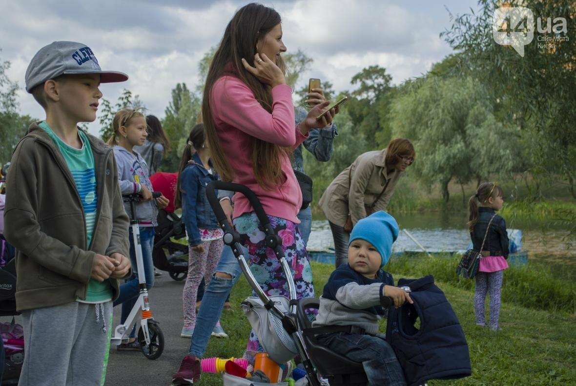Необычный цветник: в киевском парке появились плавающие клумбы (ФОТОРЕПОРТАЖ), фото-14