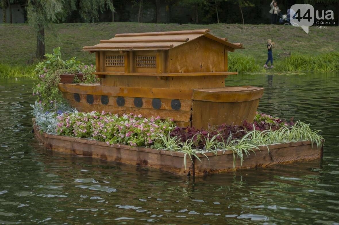 Необычный цветник: в киевском парке появились плавающие клумбы (ФОТОРЕПОРТАЖ), фото-10