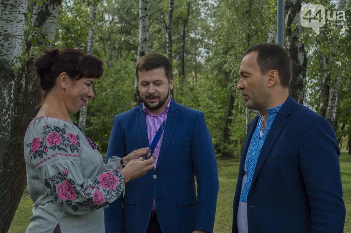 Необычный цветник: в киевском парке появились плавающие клумбы (ФОТОРЕПОРТАЖ), фото-7