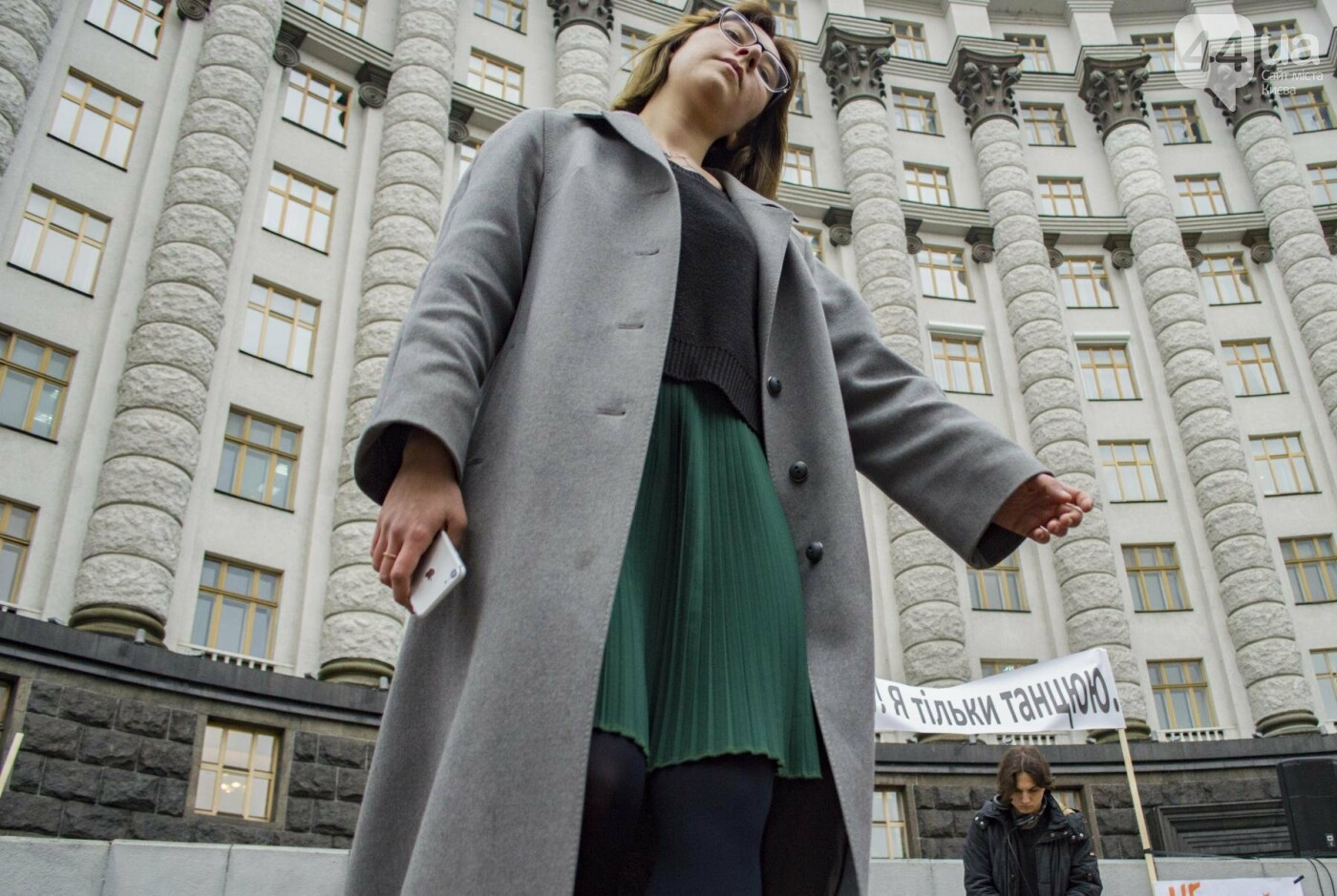 """""""Не бей, я танцую"""": под Кабмином молодежь устроила акцию-дискотеку (ФОТОРЕПОРТАЖ), фото-4"""