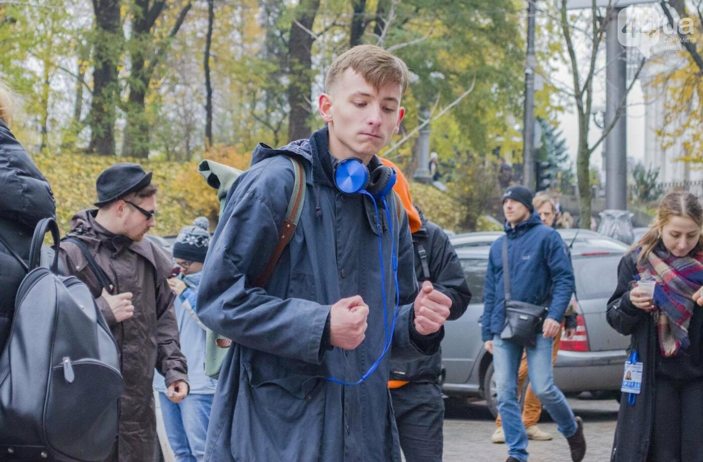 """""""Не бей, я танцую"""": под Кабмином молодежь устроила акцию-дискотеку (ФОТОРЕПОРТАЖ), фото-7"""