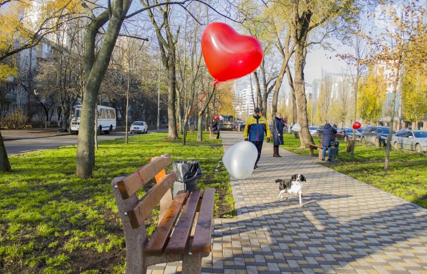 В Киеве появился сквер влюбленных (ФОТОРЕПОРТАЖ), фото-3