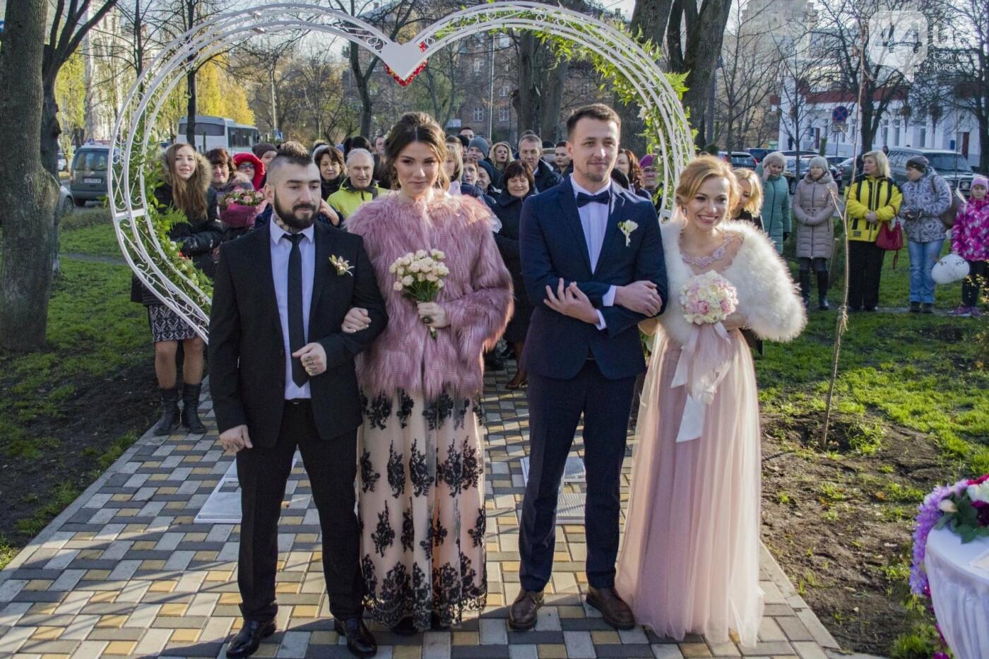 В Киеве появился сквер влюбленных (ФОТОРЕПОРТАЖ), фото-11