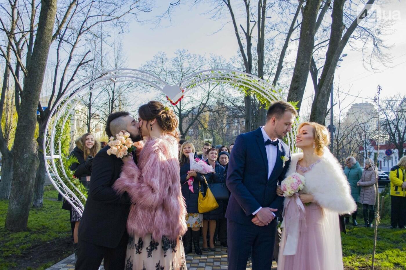 В Киеве появился сквер влюбленных (ФОТОРЕПОРТАЖ), фото-13
