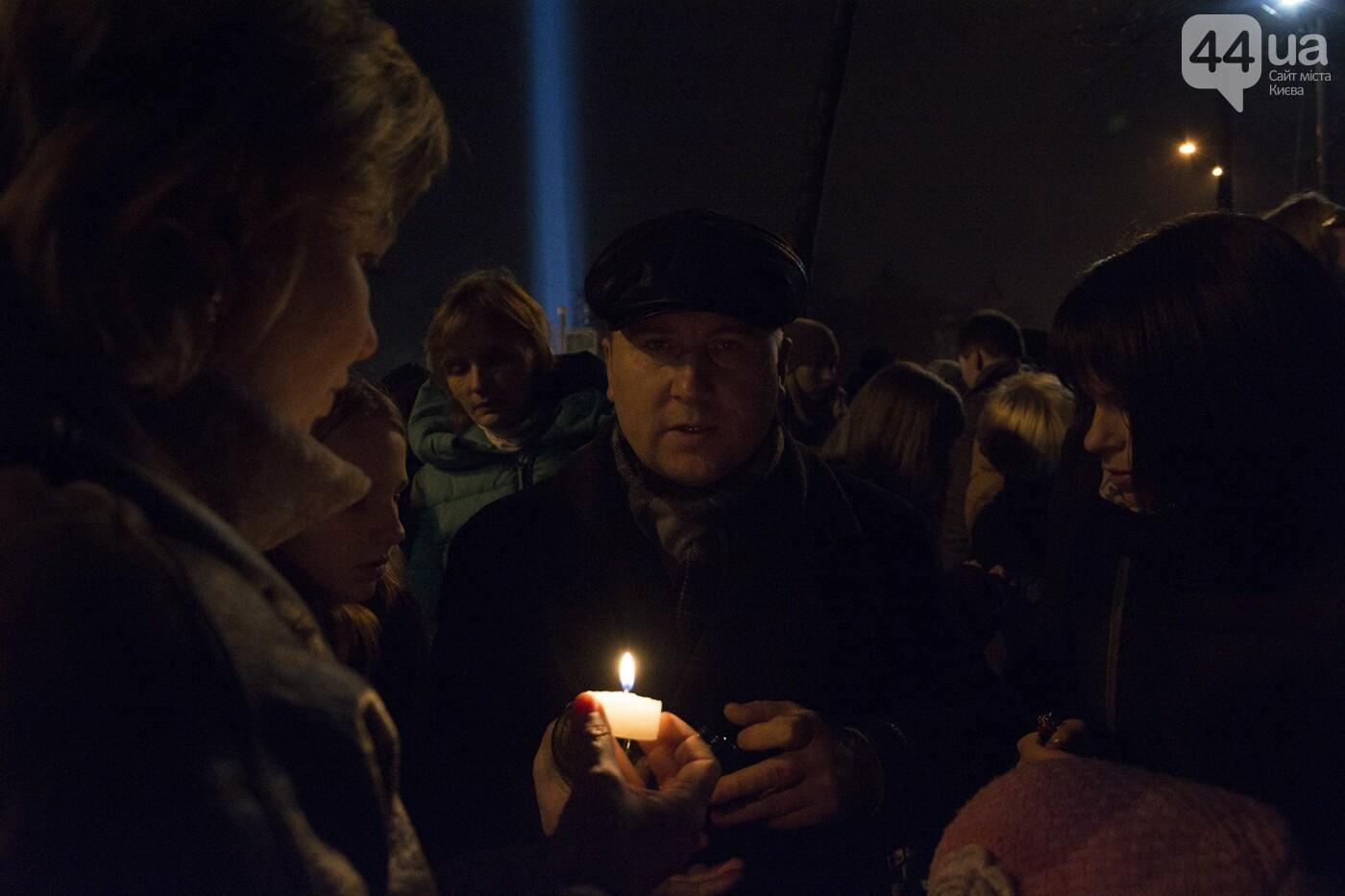 Годовщина Евромайдана: в Киеве зажгли Лучи достоинства, фото-13