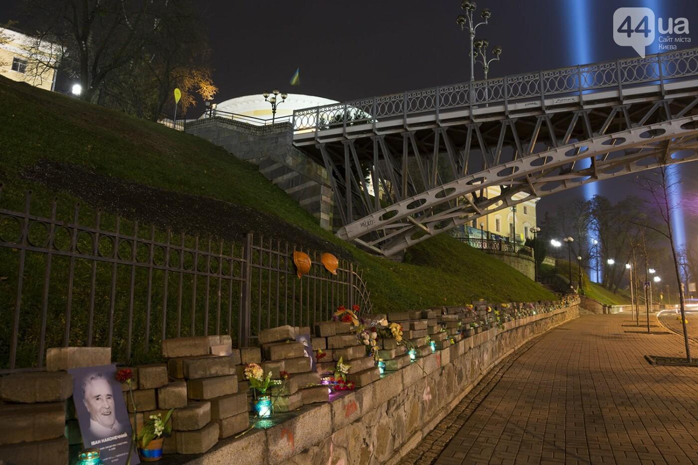 Годовщина Евромайдана: в Киеве зажгли Лучи достоинства, фото-27