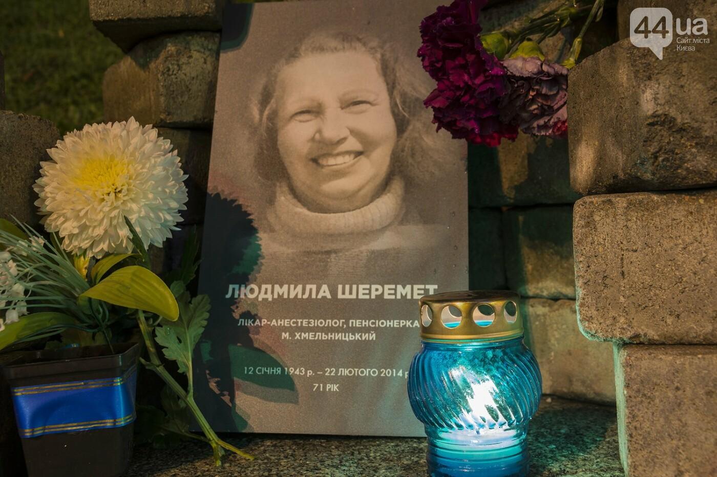 Годовщина Евромайдана: в Киеве зажгли Лучи достоинства, фото-24