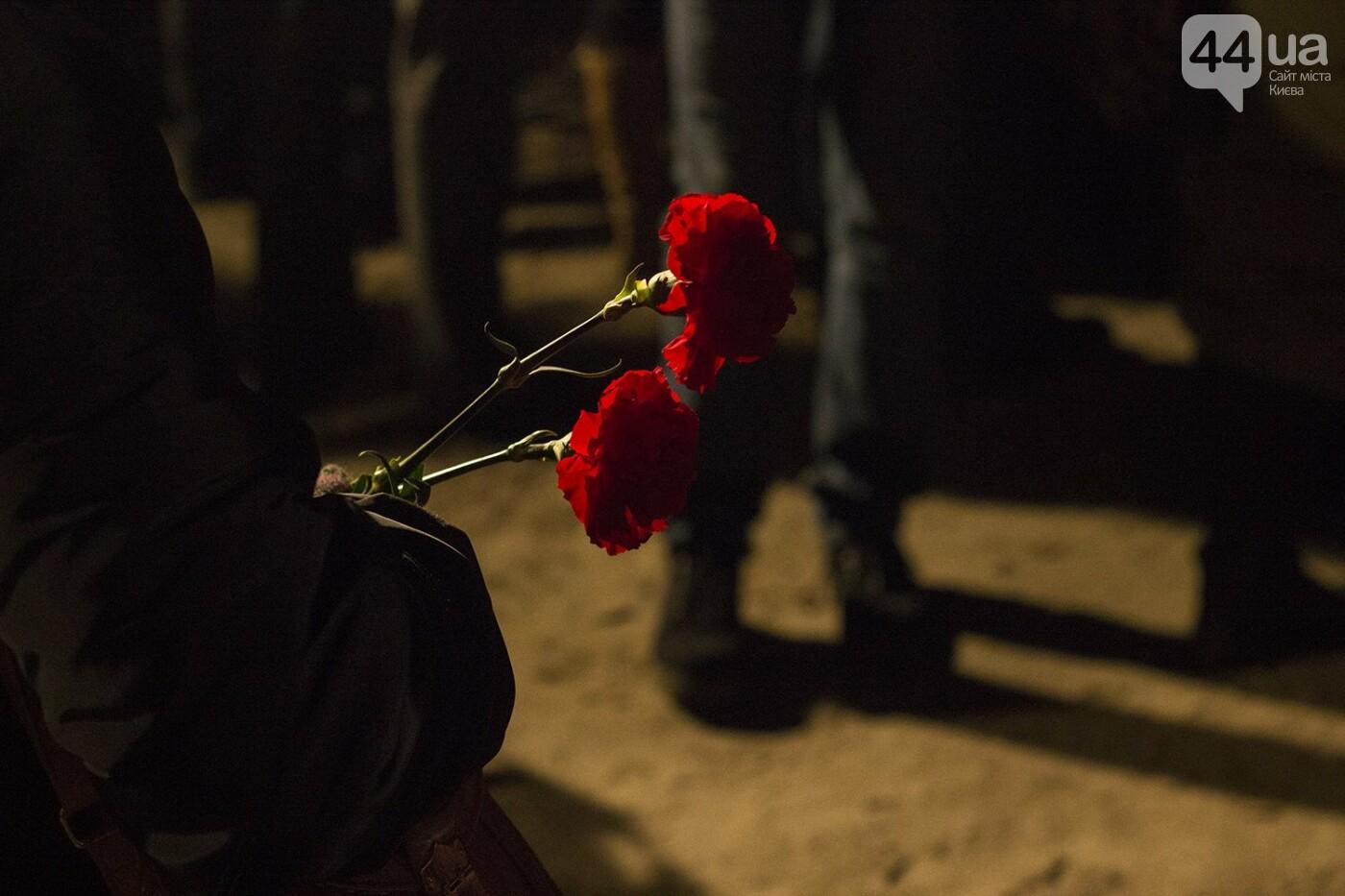 Годовщина Евромайдана: в Киеве зажгли Лучи достоинства, фото-4