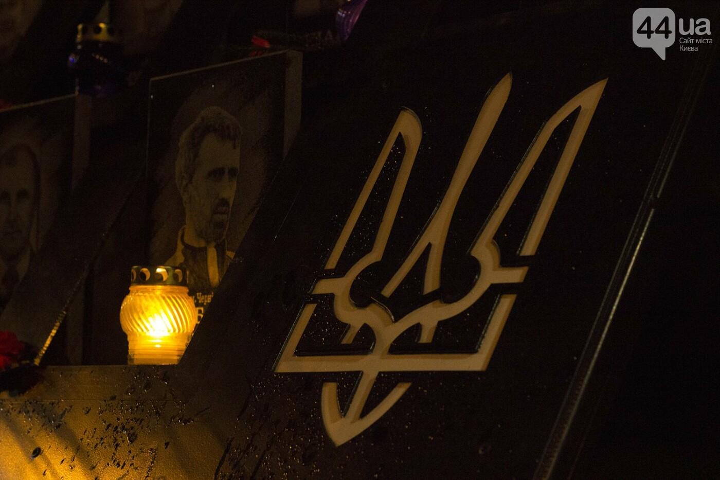 Годовщина Евромайдана: в Киеве зажгли Лучи достоинства, фото-15