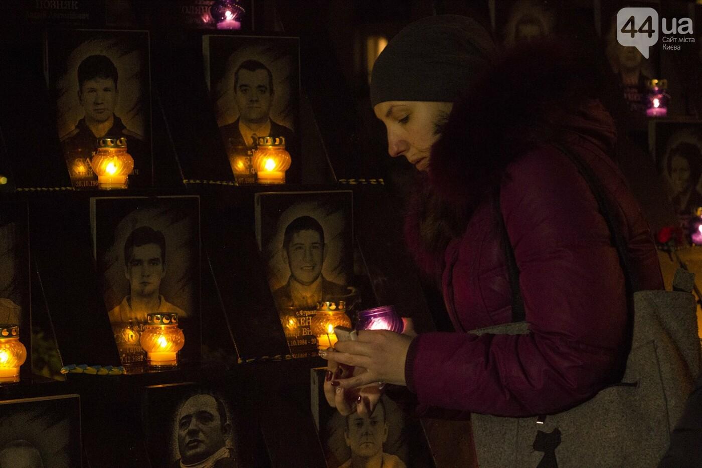 Годовщина Евромайдана: в Киеве зажгли Лучи достоинства, фото-16