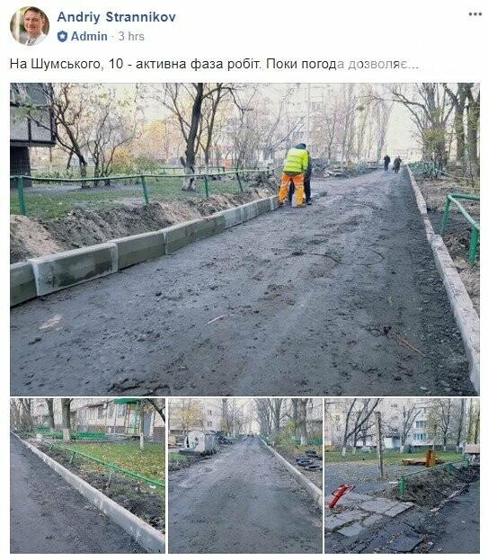 Пока не выпал снег: в Киеве активно ремонтируют дорогу, фото-1