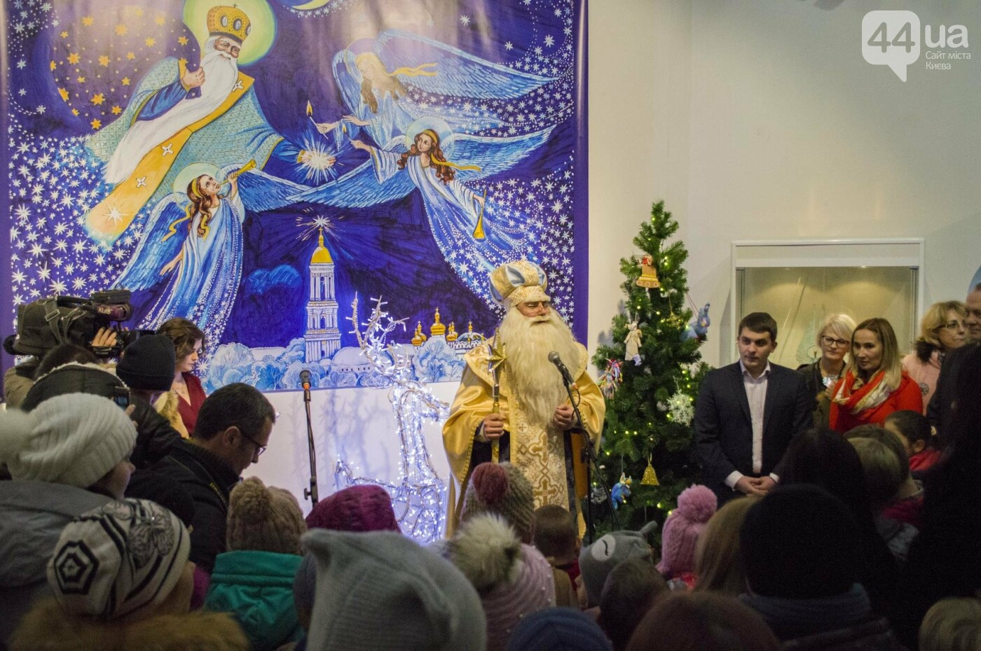 В Киеве торжественно открыли резиденцию Святого Николая, как это было, фото-8