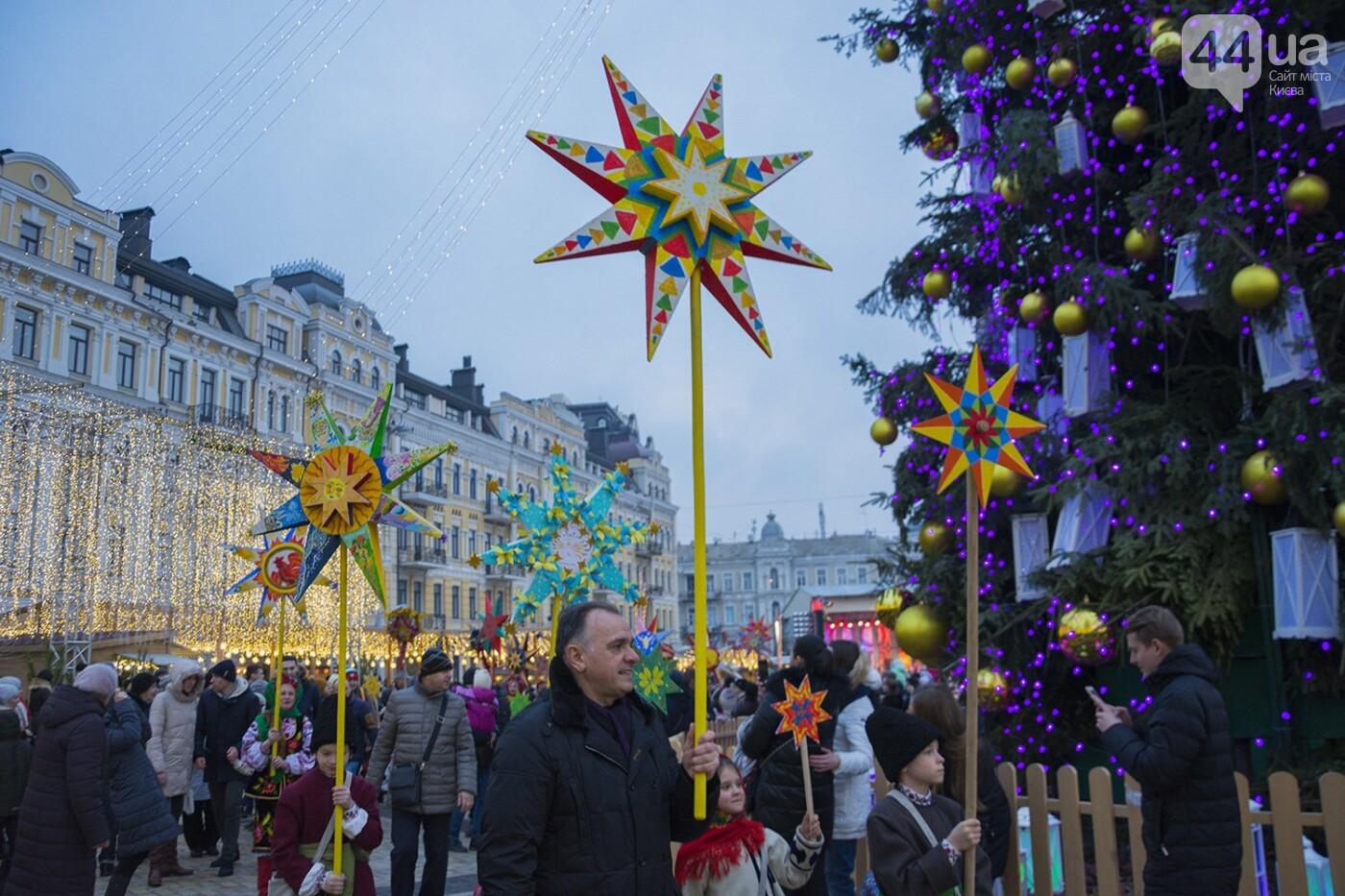 Вертеп, колядки и дидух: как на Софийской площади праздновали Рождество, фото-12