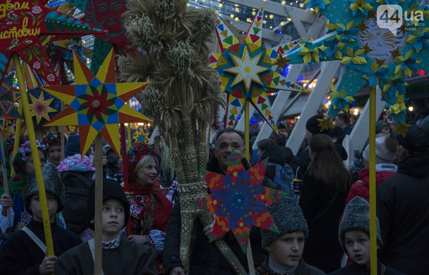 Вертеп, колядки и дидух: как на Софийской площади праздновали Рождество, фото-16