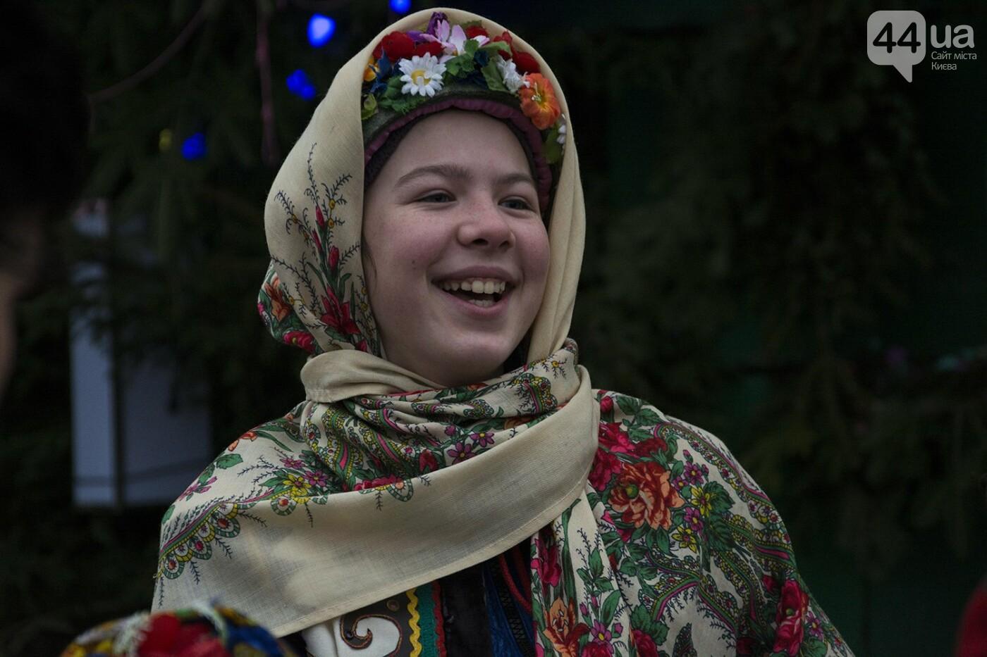 Вертеп, колядки и дидух: как на Софийской площади праздновали Рождество, фото-7