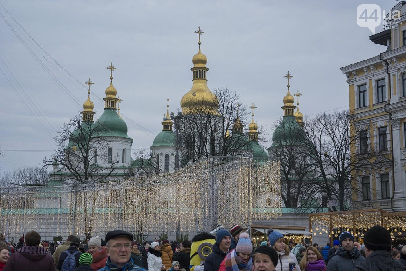 Вертеп, колядки и дидух: как на Софийской площади праздновали Рождество, фото-5