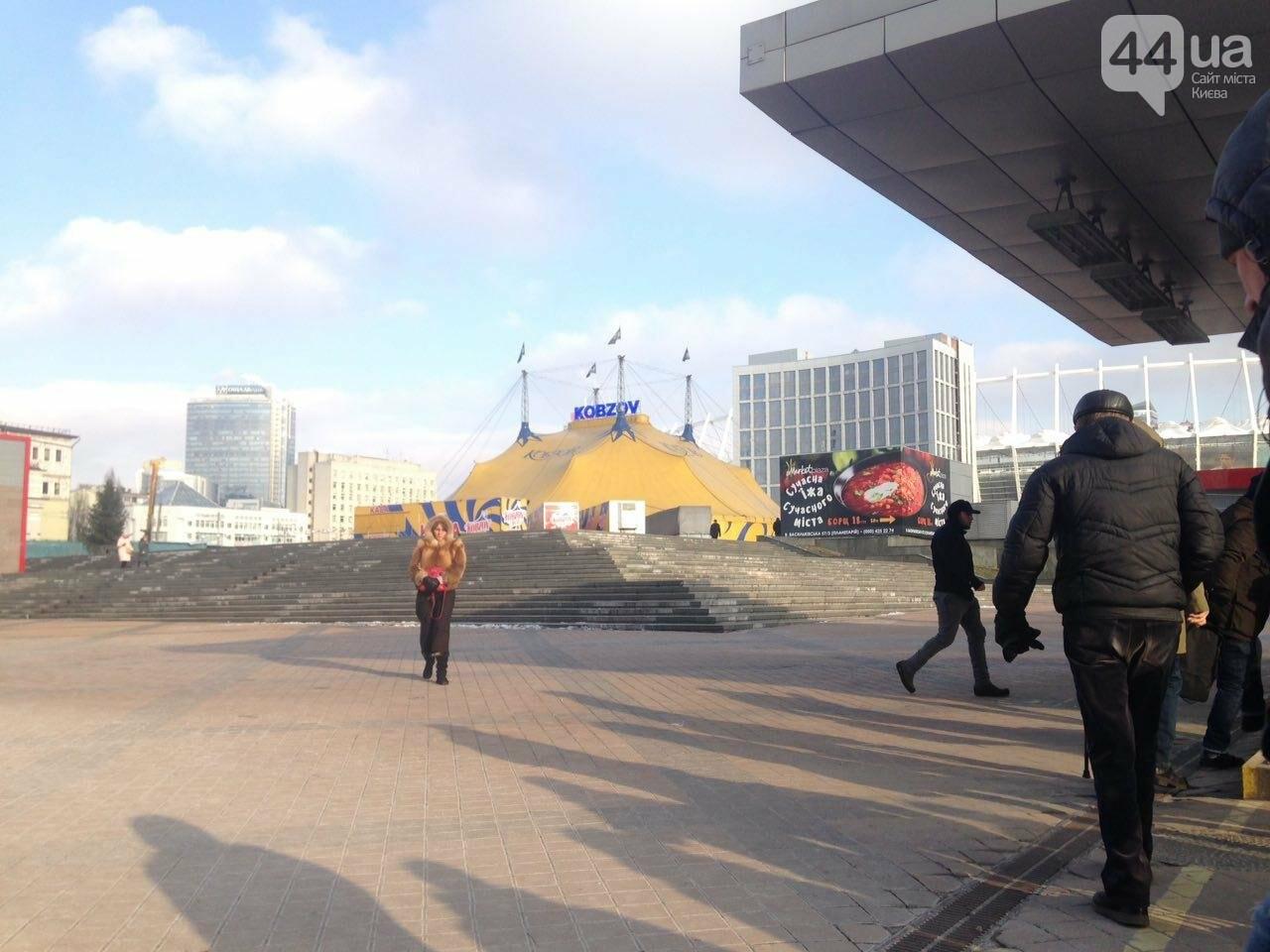 "Цирк ""Кобзов"" до сих пор не убрал палатку у ""Олимпийской"" (ФОТО), фото-2"