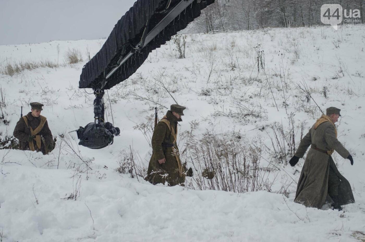 Под Киевом снимают новый украинский фильм, яркие закулисные фото, фото-9