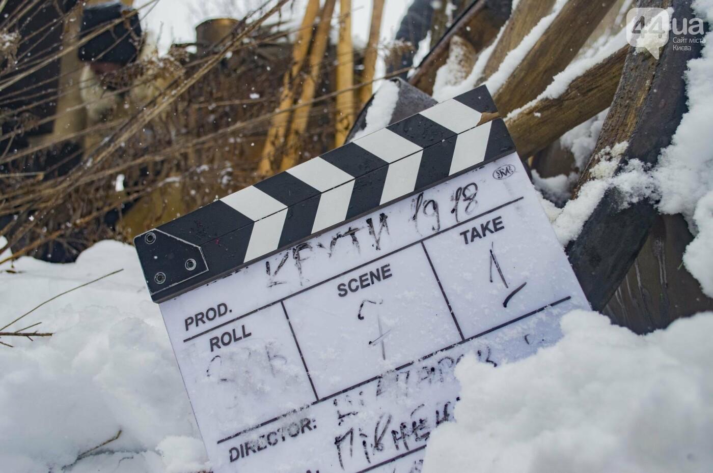 Под Киевом снимают новый украинский фильм, яркие закулисные фото, фото-1
