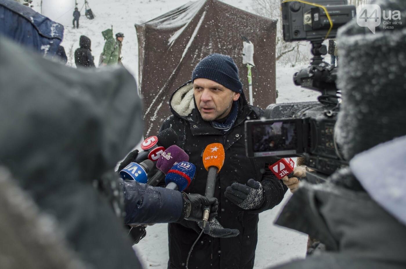 Под Киевом снимают новый украинский фильм, яркие закулисные фото, фото-3