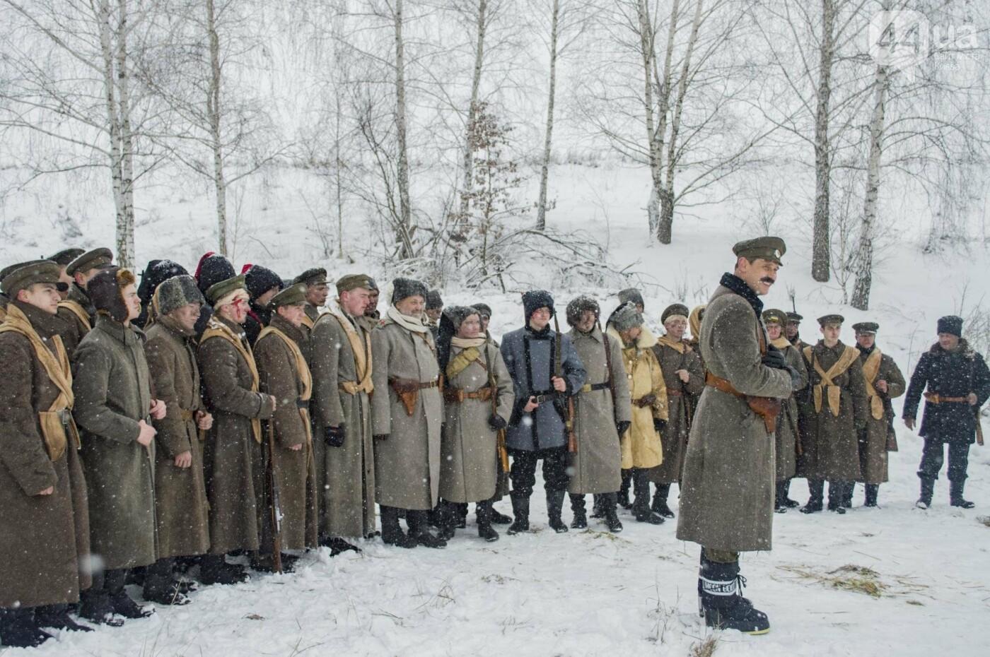 Под Киевом снимают новый украинский фильм, яркие закулисные фото, фото-20