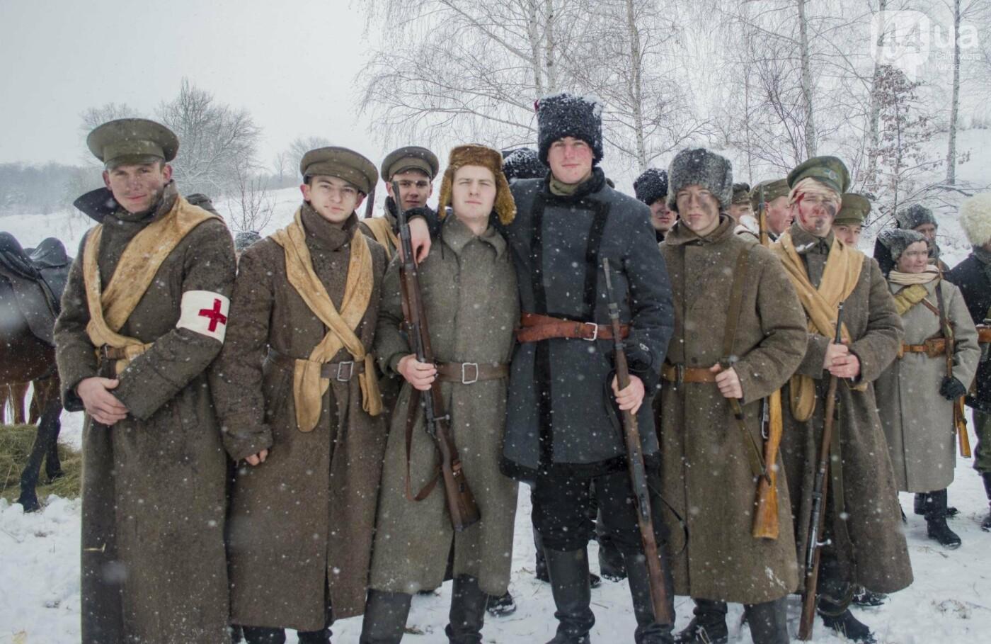 Под Киевом снимают новый украинский фильм, яркие закулисные фото, фото-21