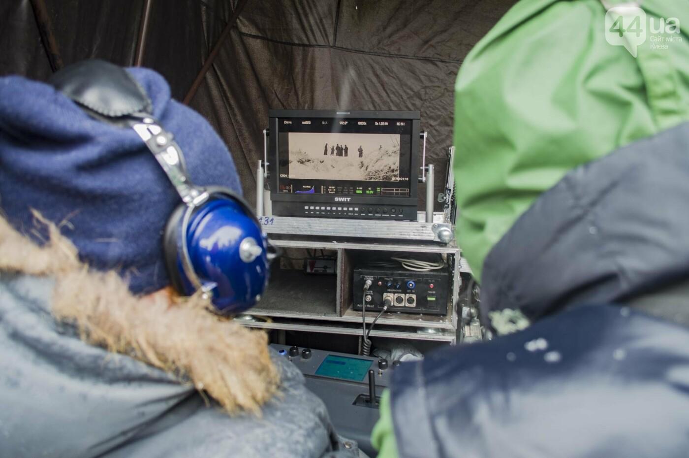 Под Киевом снимают новый украинский фильм, яркие закулисные фото, фото-8