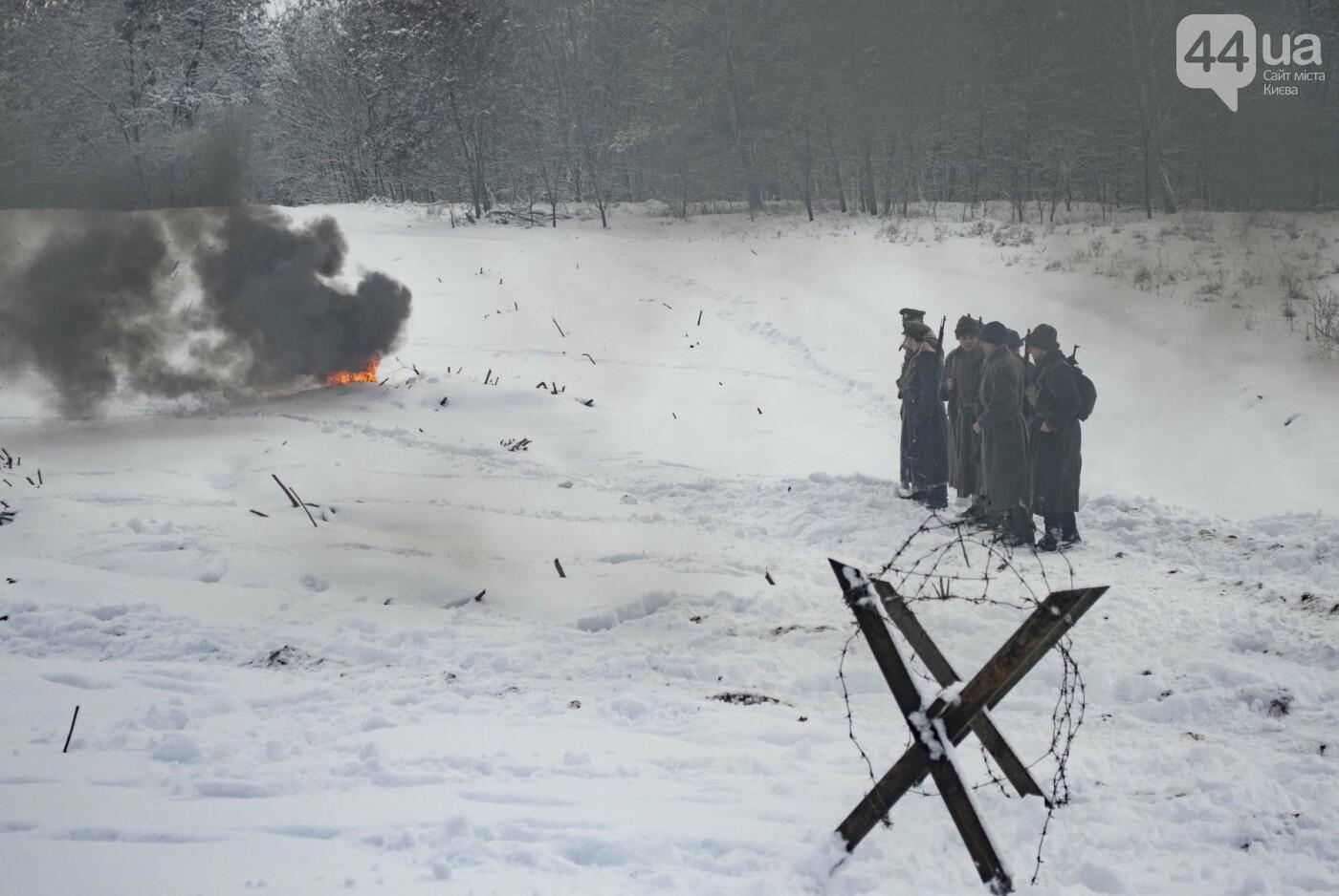 Под Киевом снимают новый украинский фильм, яркие закулисные фото, фото-18