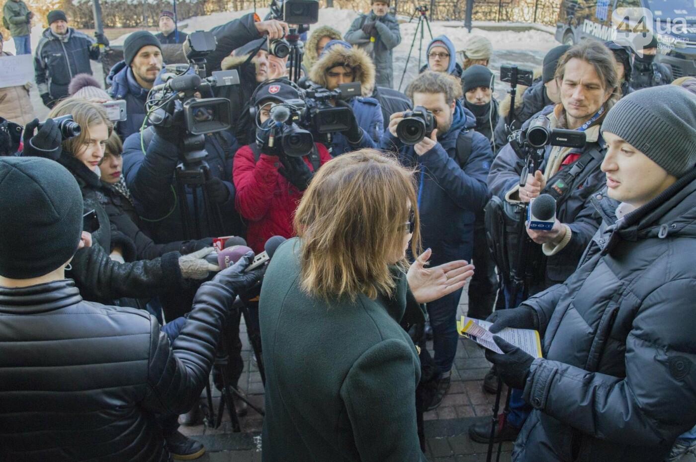 В Киеве прошла акция с требованием уволить ведущую и закрыть телеканал (ФОТО), фото-10