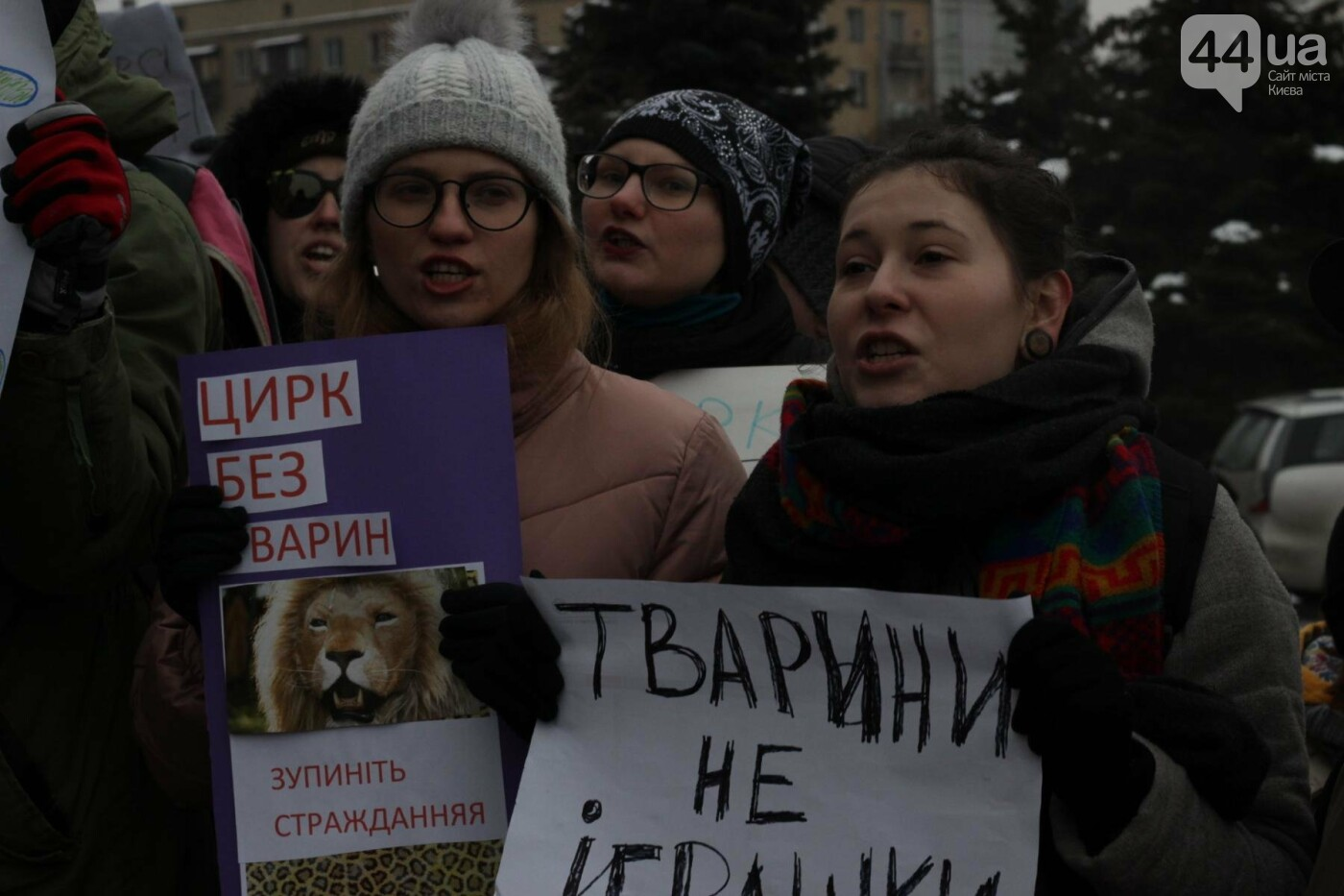 Цирк без животных: как в Киеве прошла акция протеста, фото-9