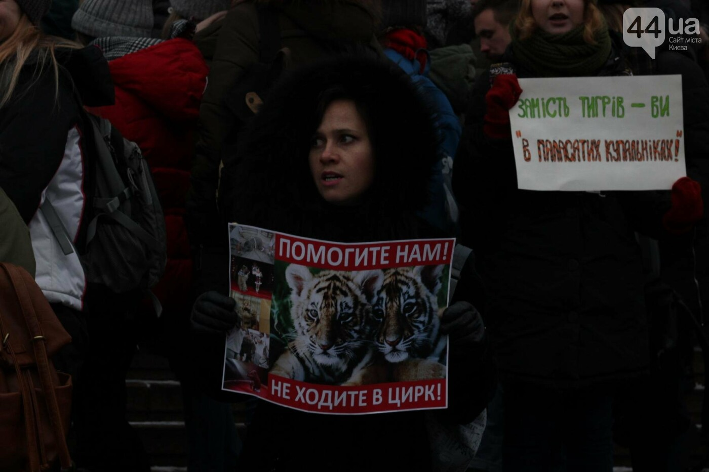 Цирк без животных: как в Киеве прошла акция протеста, фото-2