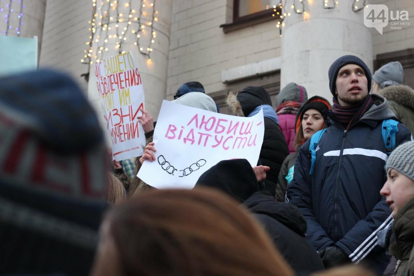 Цирк без животных: как в Киеве прошла акция протеста, фото-24