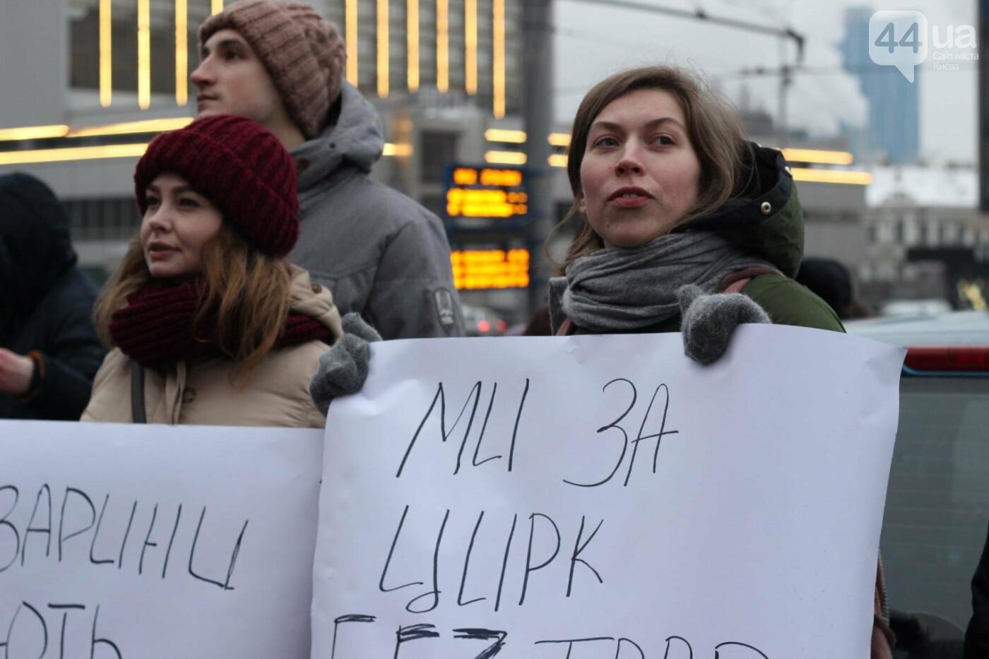 Цирк без животных: как в Киеве прошла акция протеста, фото-20
