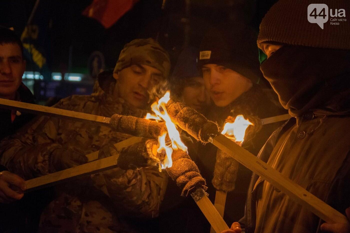 Герои Крут: в Киеве прошло факельное шествие (ФОТОРЕПОРТАЖ), фото-6