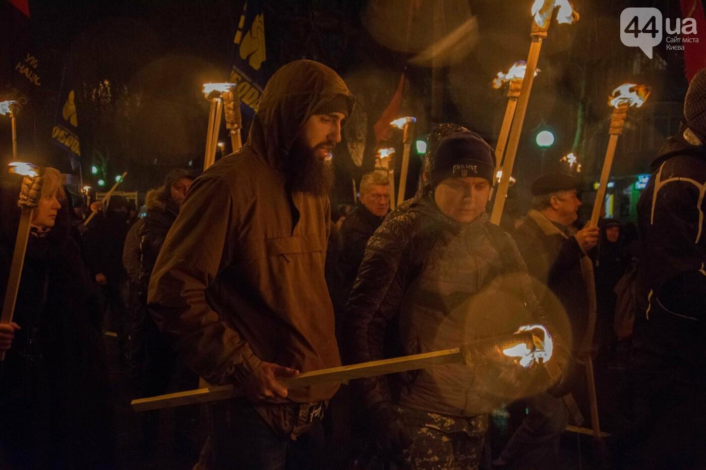 Герои Крут: в Киеве прошло факельное шествие (ФОТОРЕПОРТАЖ), фото-9