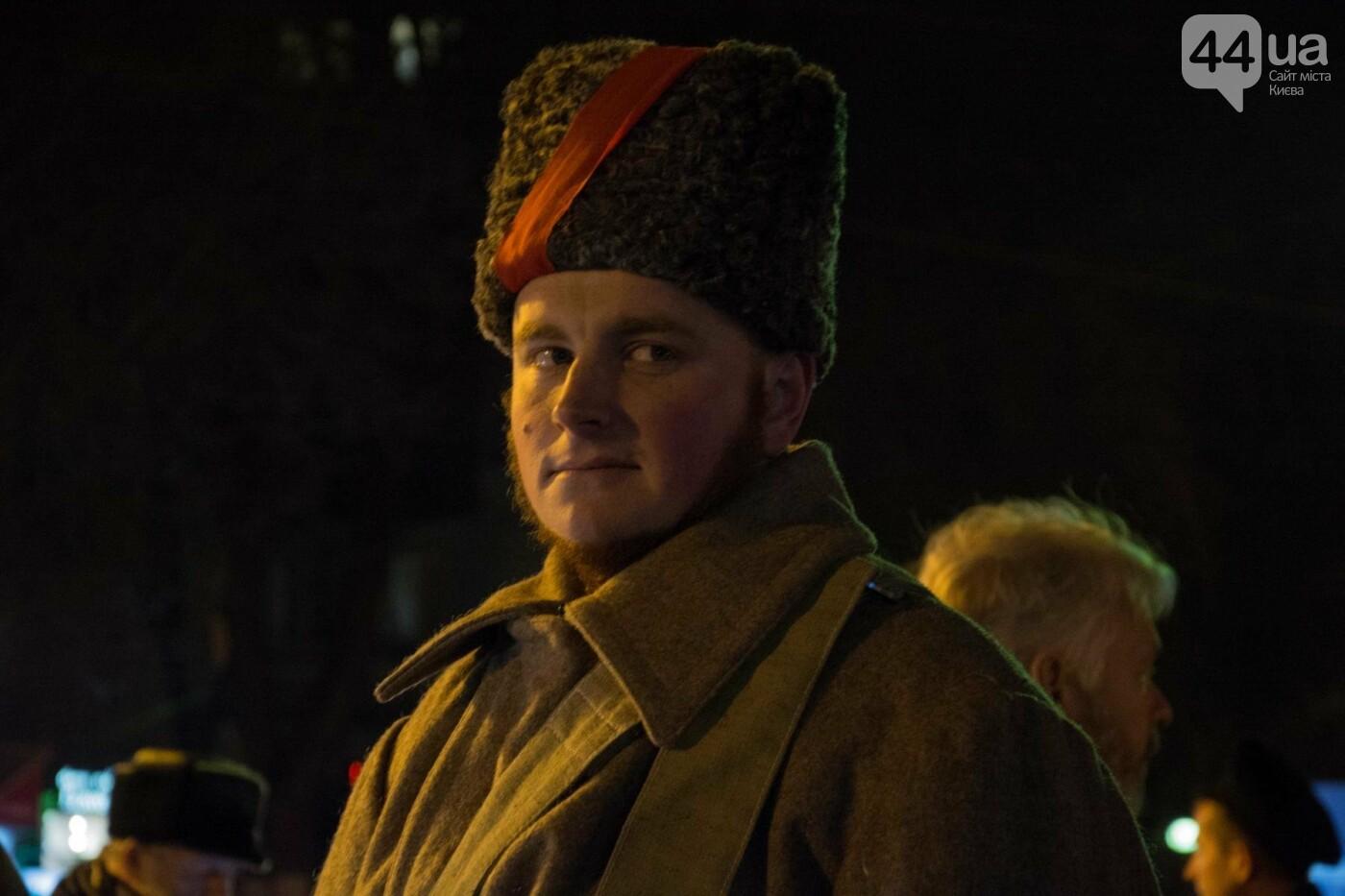 В Киеве провели реконструкцию боя за завод Арсенал (ФОТОРЕПОРТАЖ), фото-3