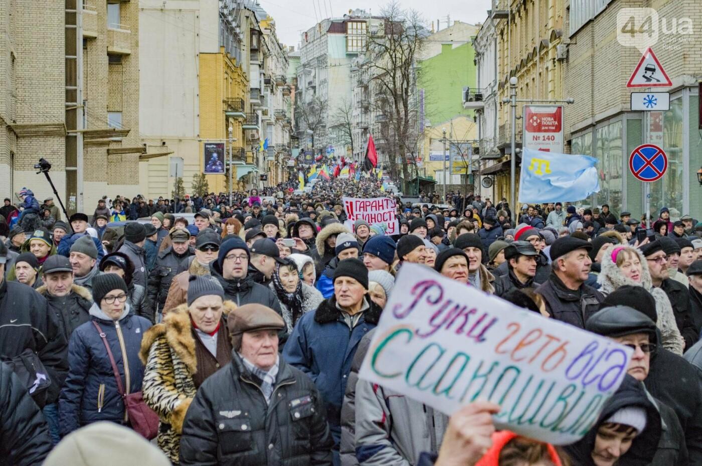 Порошенко дали 14 дней на отставку: Саакашвили провел очередной марш за импичмент, фото-10